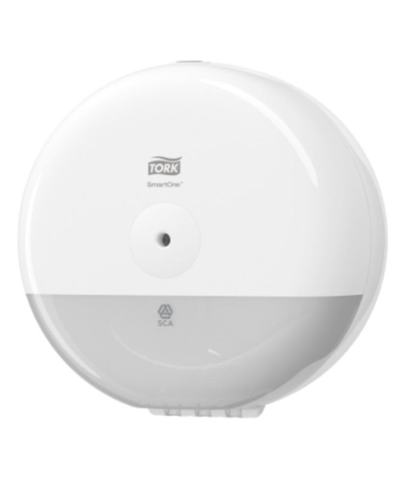 Tork SmartOne® Mini Toiletpapier Dispenser Kunststof Elevation Wit T9