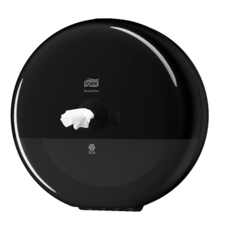 Tork SmartOne® Toiletpapier Dispenser Kunststof Elevation Zwart T8