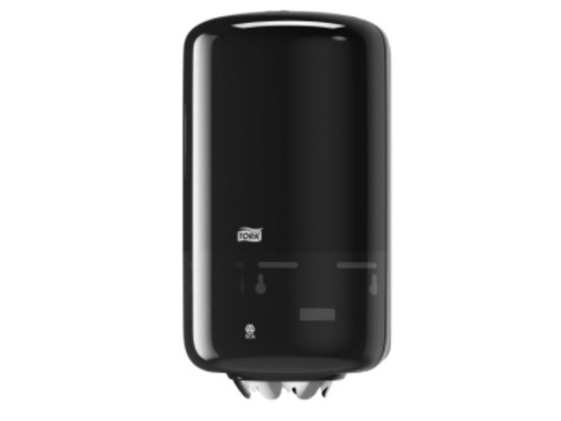 Tork Tork Mini Centerfeed Poetspapier Dispenser Kunststof Zwart M1