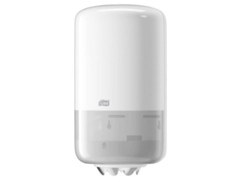 Tork Tork Mini Centerfeed Poetspapier Dispenser Wit M1