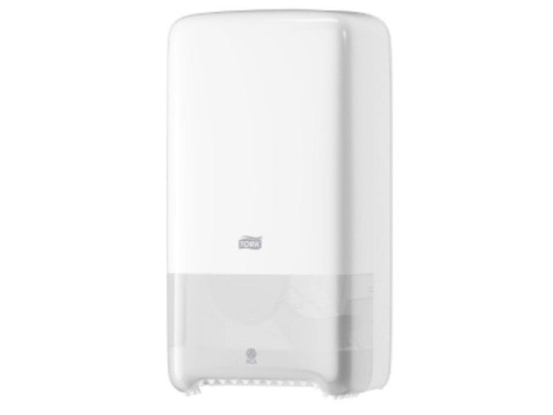 Tork Tork Twin Mid-size Toiletpapier Dispenser Kunststof Wit T6