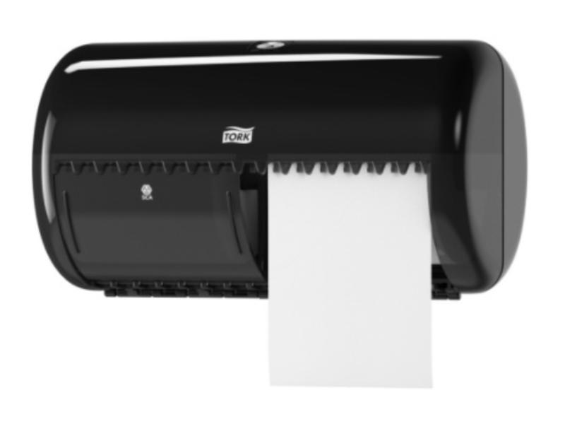 Tork Tork Traditioneel Toiletpapier Dispenser Kunststof Zwart T4