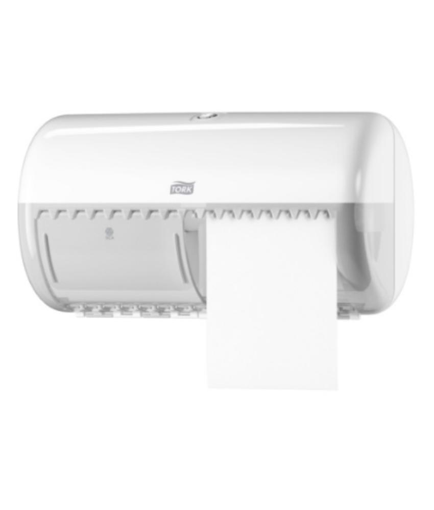 Tork Traditioneel Toiletpapier Dispenser Kunststof Wit T4