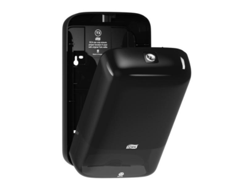 Tork Tork Gevouwen Toiletpapier Dispenser Kunststof Zwart T3