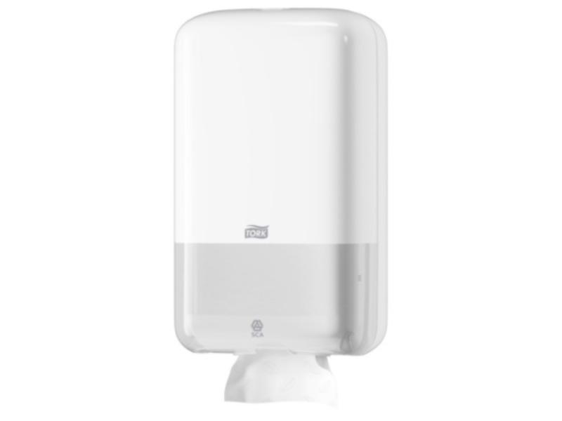 Tork Tork Gevouwen Toiletpapier Dispenser Kunststof Wit T3