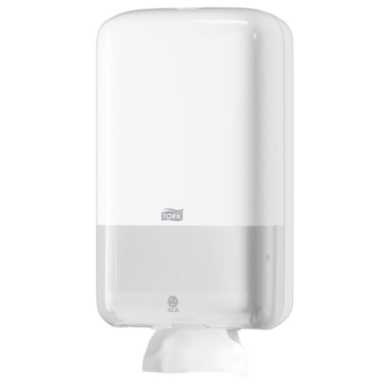 Tork Gevouwen Toiletpapier Dispenser Kunststof Wit T3
