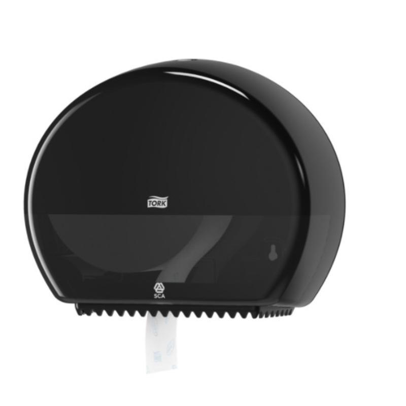 Tork Mini Jumbo Toiletpapier Dispenser Kunststof Zwart T2