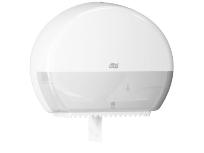 Tork Tork Mini Jumbo Toiletpapier Dispenser Kunststof Wit T2