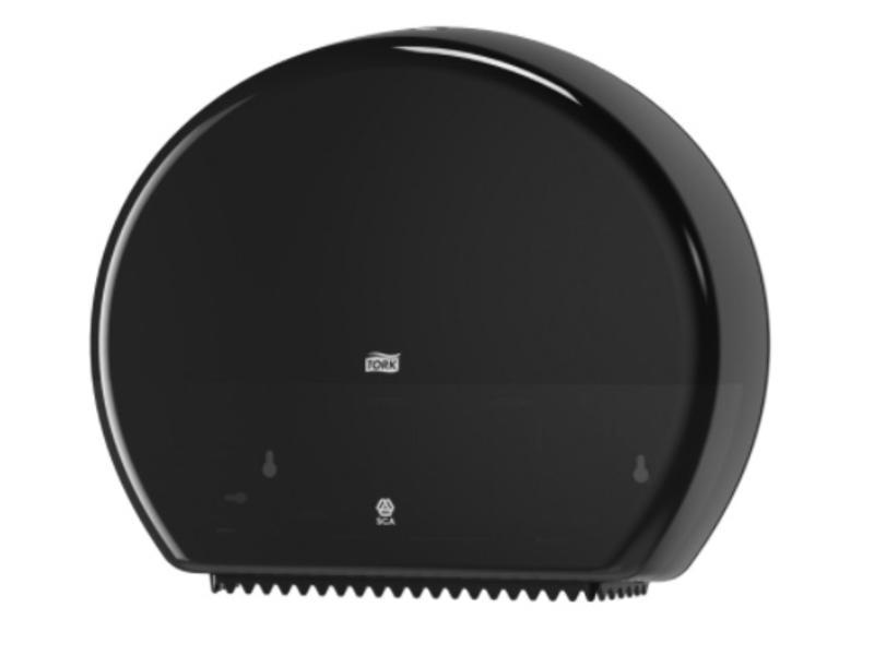 Tork Tork Jumbo Toiletpapier Dispenser Kunststof Zwart T1