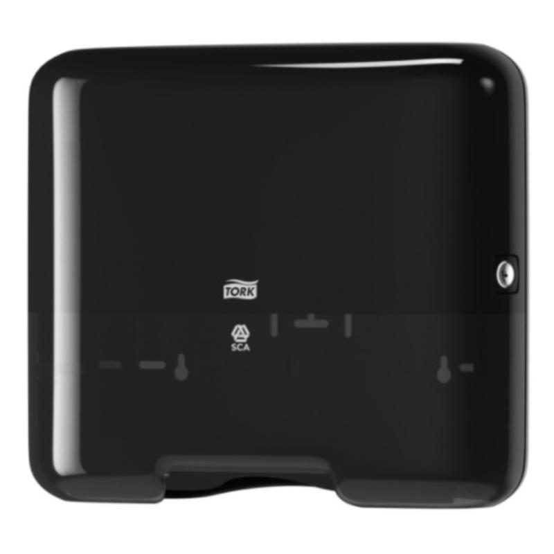 Tork Z-vouw/C-vouw Mini Handdoek Dispenser Kunststof Zwart H3