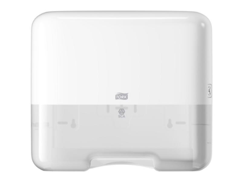 Tork Tork Z-vouw/C-vouw Mini Handdoek Dispenser kunststof Wit H3