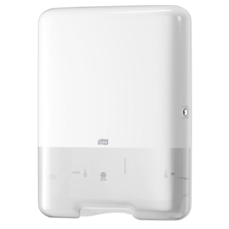 Tork Z-vouw/C-vouw Handdoek Dispenser Kunststof Wit H3