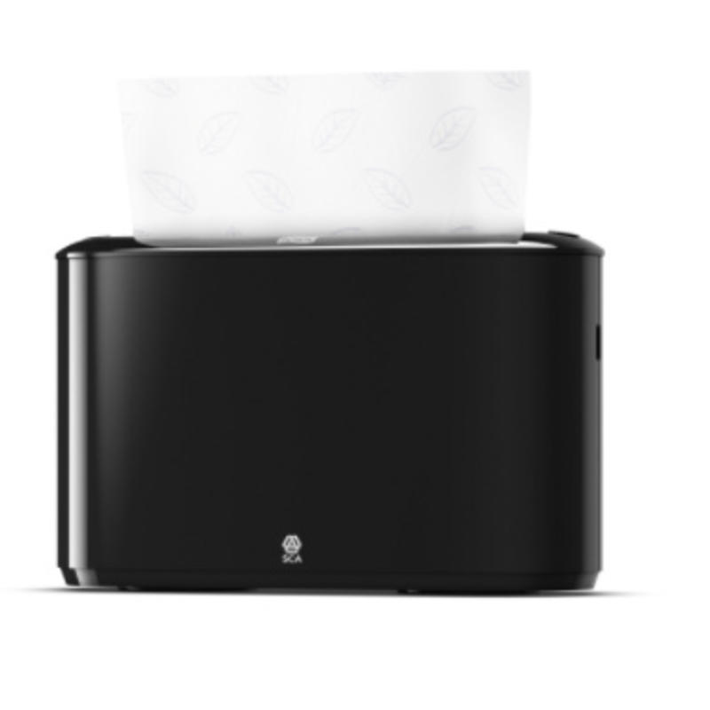 Tork Xpress® Multifold Countertop Handdoek Dispenser Kunststof Zwart H2