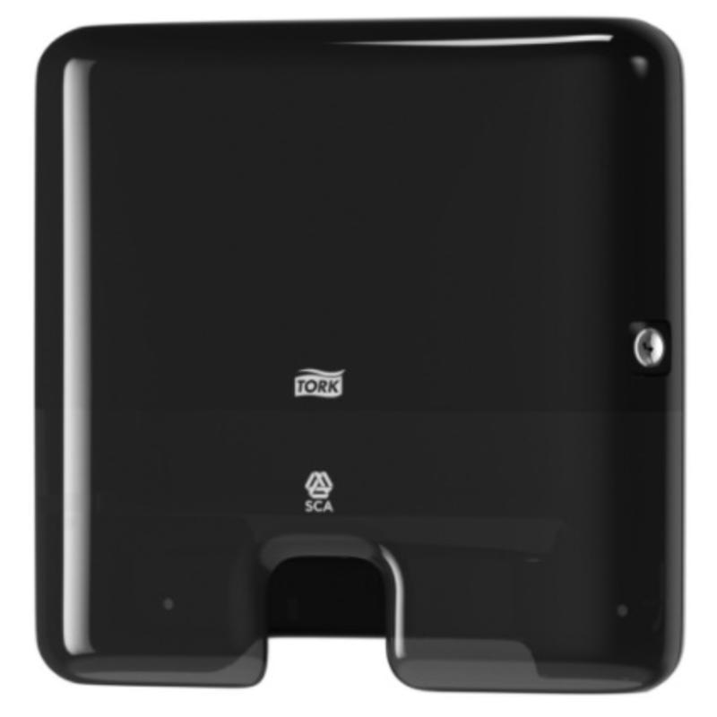 Tork Xpress® Mini Multifold Handdoekdispenser Kunststof Zwart H2