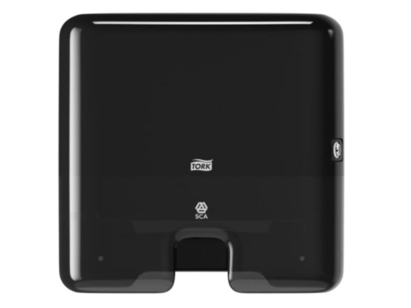 Tork Tork Xpress® Mini Multifold Handdoekdispenser Kunststof Zwart H2