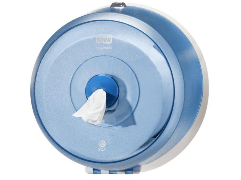 Tork Tork SmartOne® Mini Toiletpapier Dispenser Kunststof Blauw T9