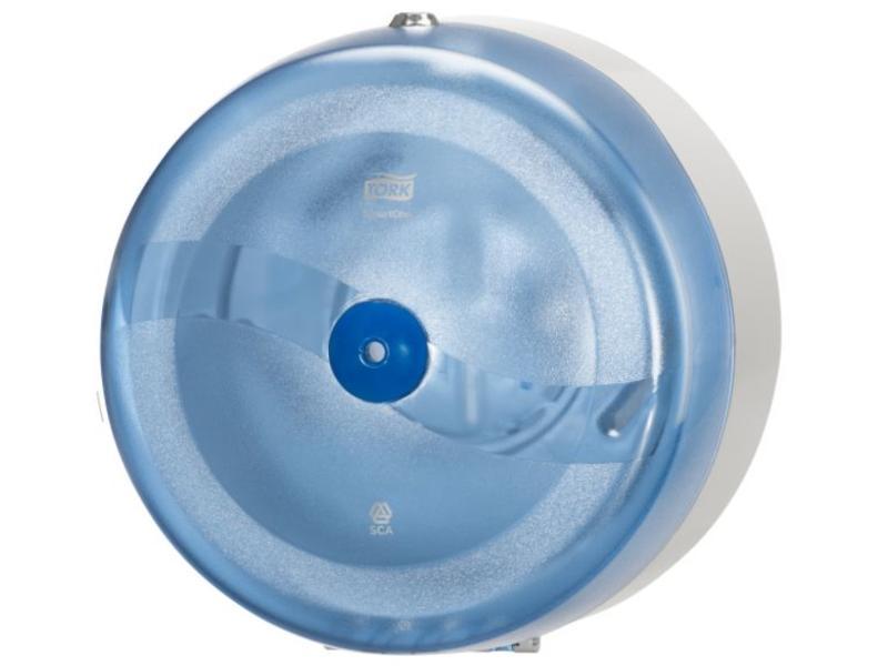 Tork Tork SmartOne® Toiletpapier Dispenser Kunststof Blauw T8