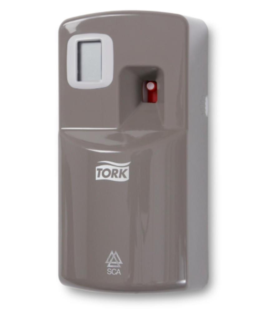 Tork Luchtverfrisser Spray Dispenser Kunststof Grijs A1