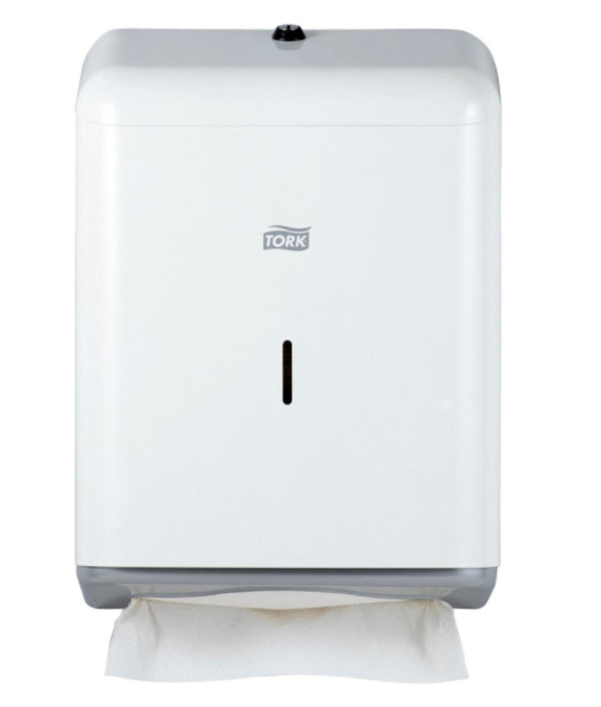 Tork Z-vouw/C-vouw Handdoek Dispenser Metaal Wit H3