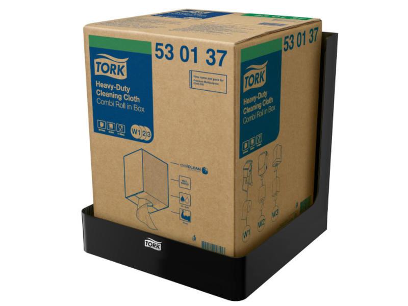Tork Tork Boxed Combi Rol Poetspapier Dispenser Kunststof Zwart W3