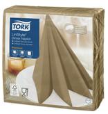 Tork Tork LinStyle® servet 39x39cm 1/4-vouw biscuit 12x50