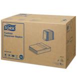 Tork Tork dispenserservet 25x30cm 1-laags fastfold wit 36x250