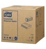 Tork Tork dispenserservet 30x33cm 1-laags counterfold wit 16x250