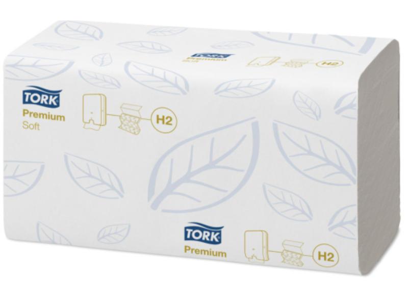 Tork Tork Xpress® Zachte Multifold Handdoek 2-laags Wit H2 Premium