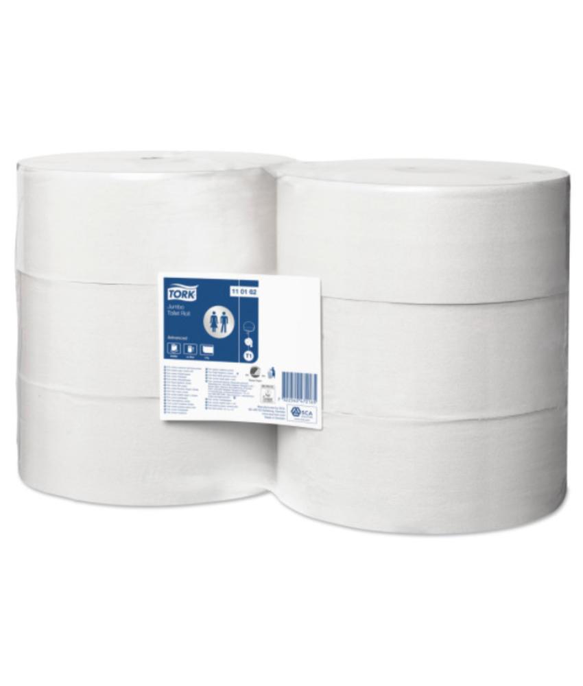 Tork Jumbo Toiletpapier 1-laags Wit T1 Advanced