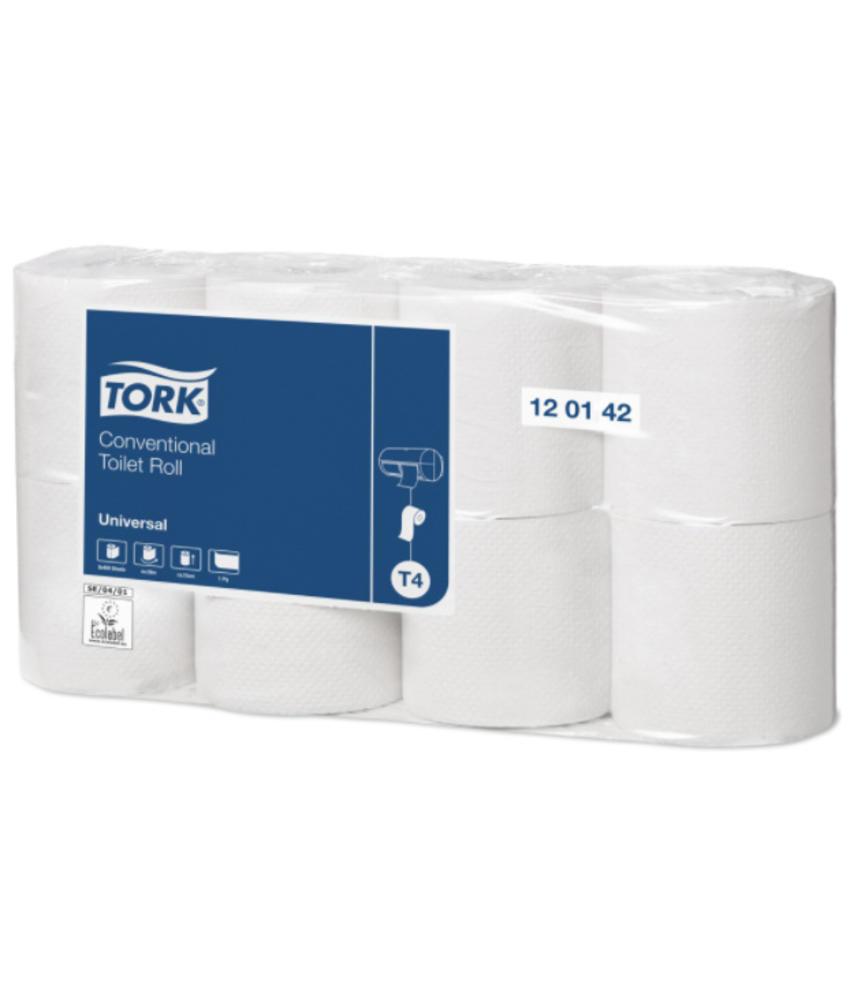 Tork Traditioneel Toiletpapier 1-laags Naturel 400 Vel T4 Universal