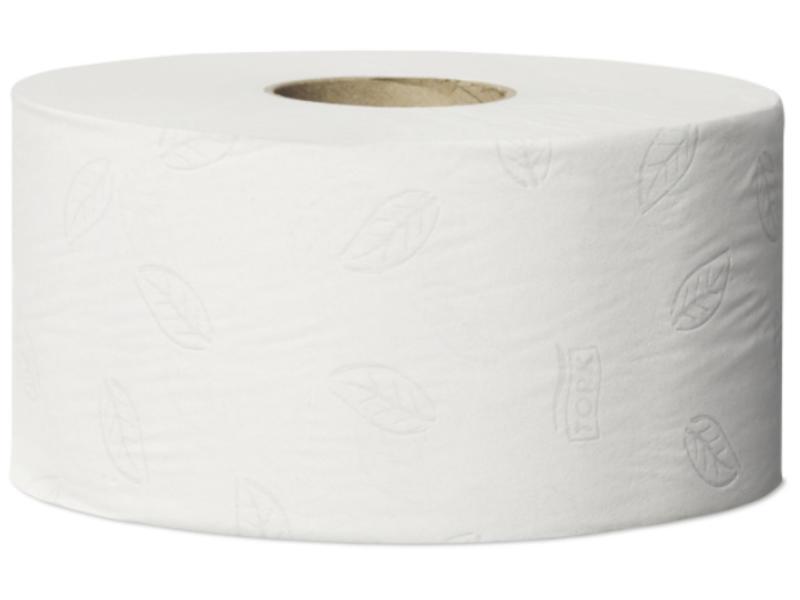 Tork Tork Mini Jumbo Toiletpapier 2-laags Wit T2 Advanced