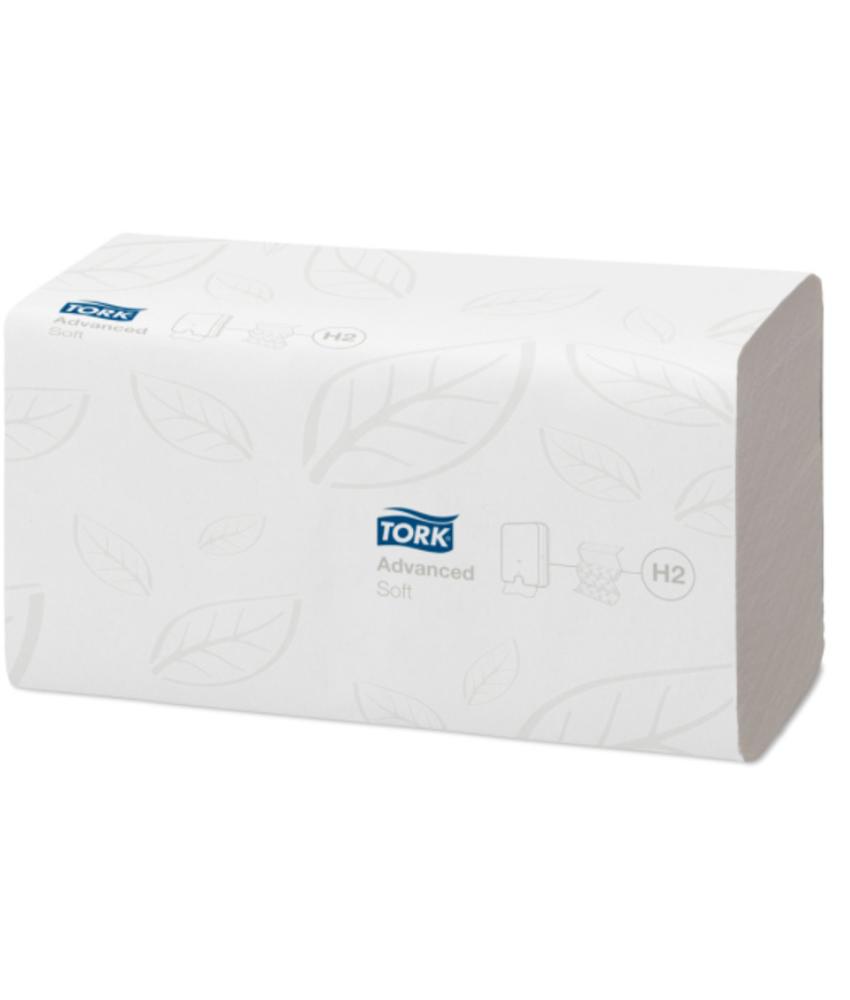 Tork Xpress® Zachte Multifold Handdoek 2-laags Wit H2 Advanced