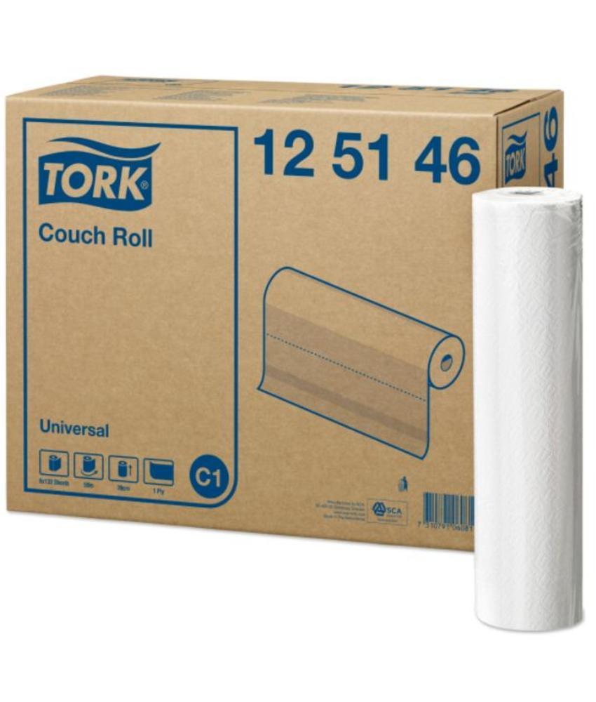 Tork Onderzoekstafelrol 1-laags Wit 39 cm C1