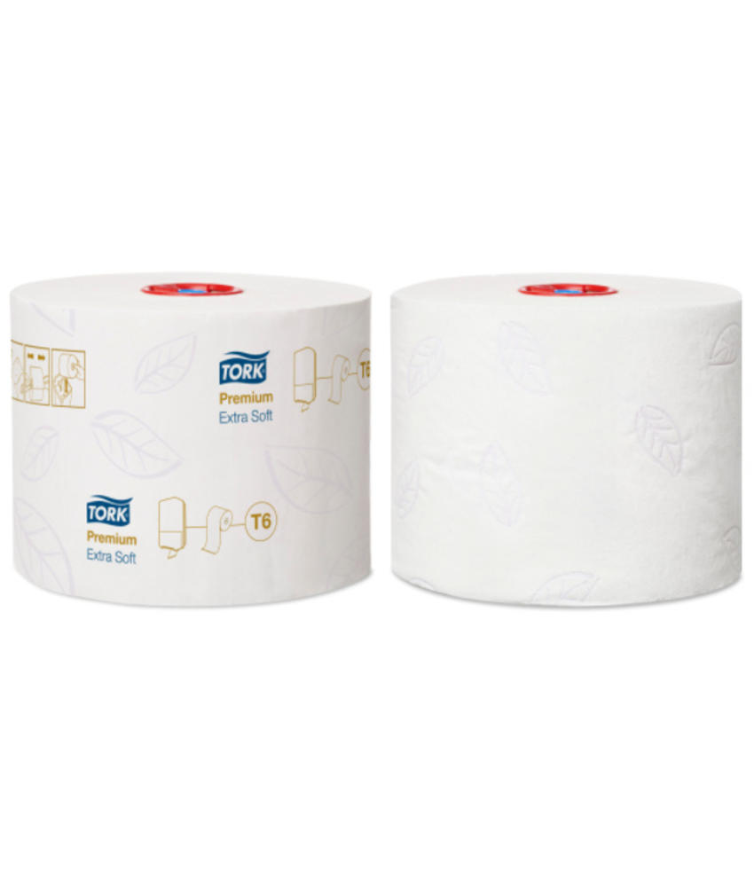 Tork Extra Zacht Mid-size Toiletpapier 3-laags Wit T6 Premium