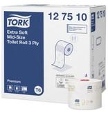 Tork Tork Extra Zacht Mid-size Toiletpapier 3-laags Wit T6 Premium