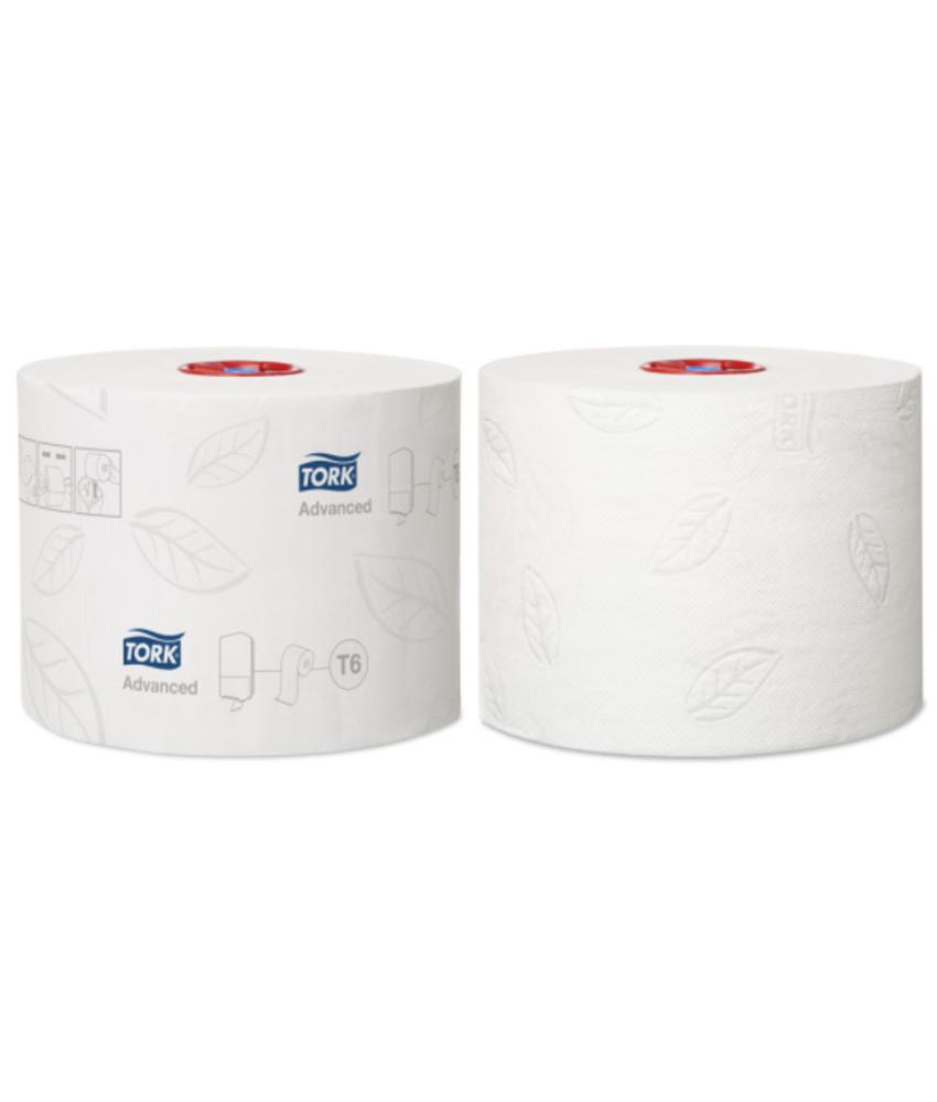 Tork Mid-size Toiletpapier 2-laags Wit T6 Advanced