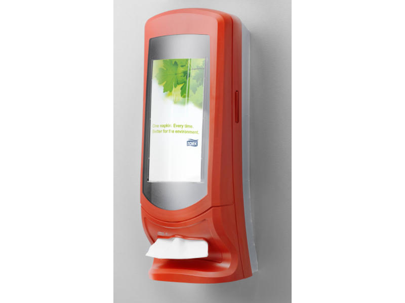Tork Tork Xpressnap® Stand servetdispenser rood (N4)