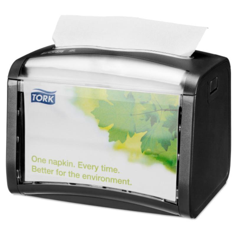 Tork Xpressnap® Tabletop servetdispenser zwart (N4)