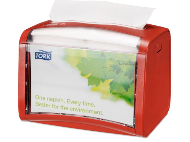 Tork Tork Xpressnap® Tabletop servetdispenser rood (N4)