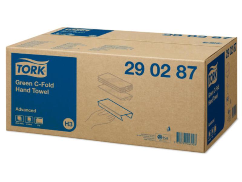 Tork Tork C-vouw Handdoek 2-laags Groen XL H3 Advanced