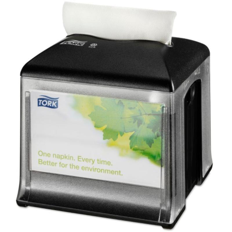 Tork Xpressnap Snack® Tabletop servetdispenser zwart (N10)