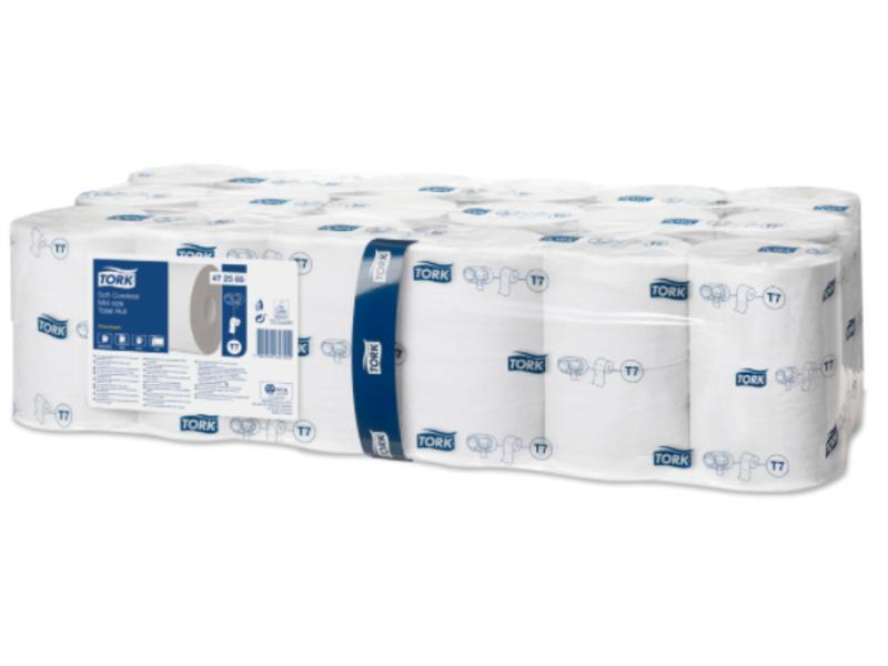 Tork Tork Zacht Hulsloos Mid-size Toiletpapier 2-laags Wit T7 Premium