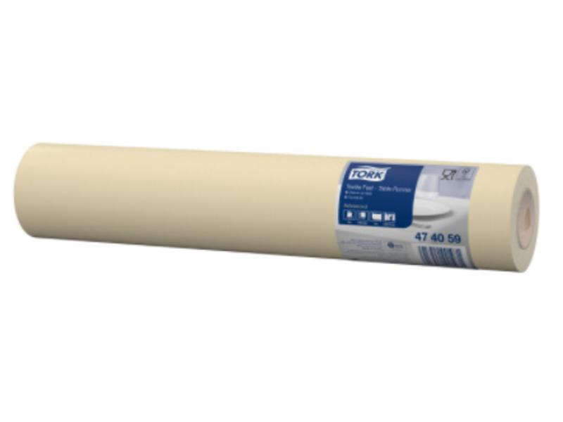 Tork Tork textile feel tafelloper cream 0,4x12m x20 4r