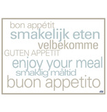 Tork Tork placemat 31x42cm Text 5x500