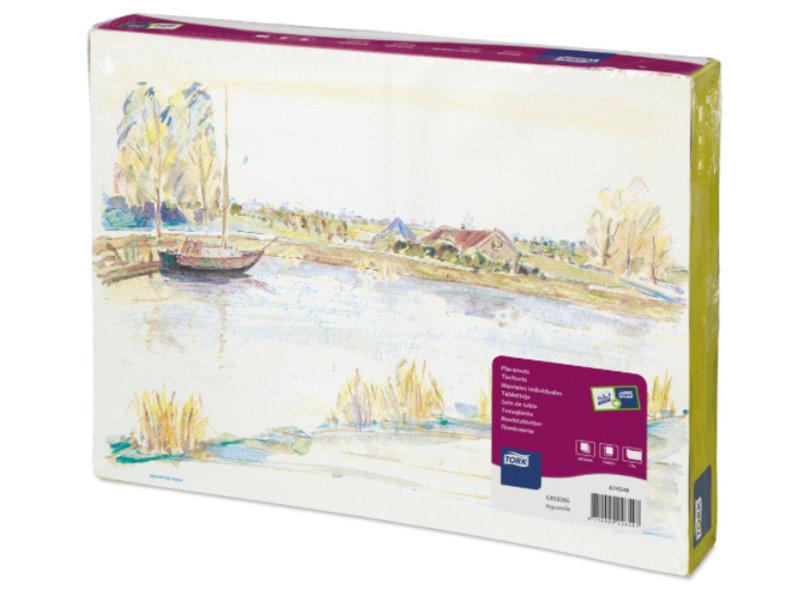 Tork Tork placemat 31x42cm Aquarelle 5x500