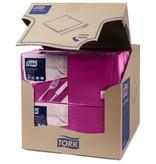 Tork Tork tissue servet 33x33cm 2-laags 1/4-vouw plum 10x200