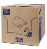 Tork Tork tissue servet 33x33cm 2-laags 1/4-vouw midnight blue 10x200
