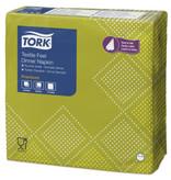 Tork Tork LinStyle® servet 40x40cm 1/4-vouw Natural Oxford 12x50