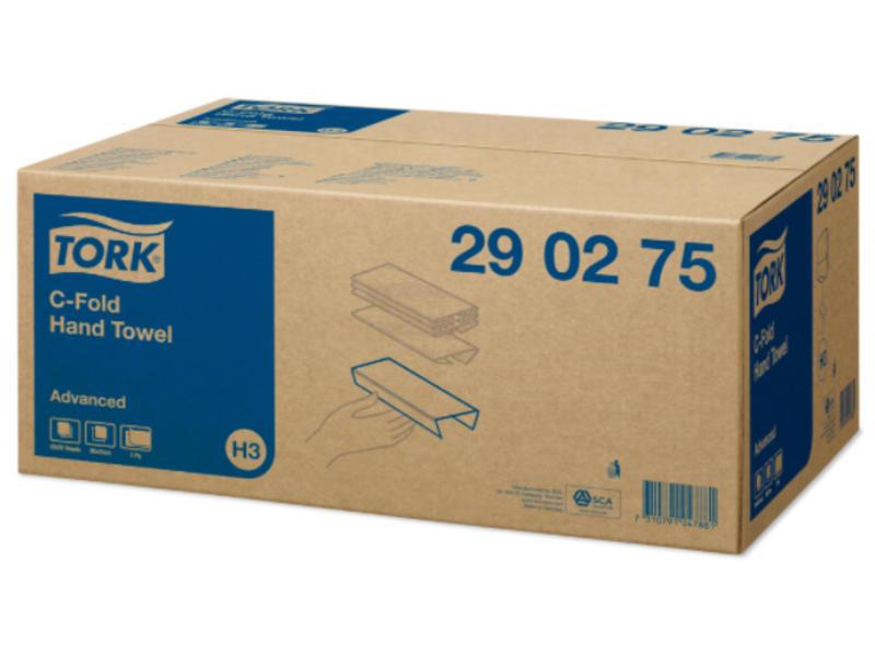 Tork Tork C-vouw Handdoek 2-laags Wit XL H3 Advanced