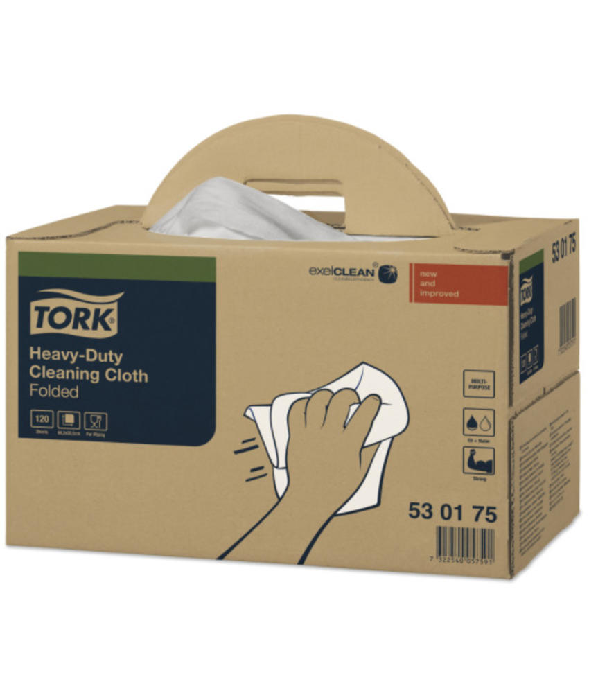 Tork Heavy-Duty Reinigingsdoek XL Handy Box W7